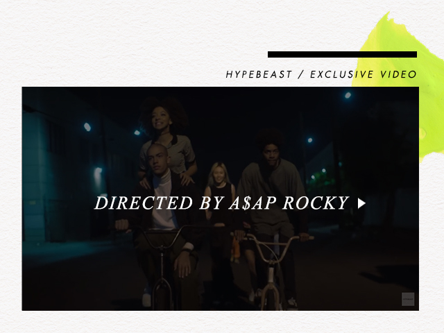 Directed By A$AP ROCKY