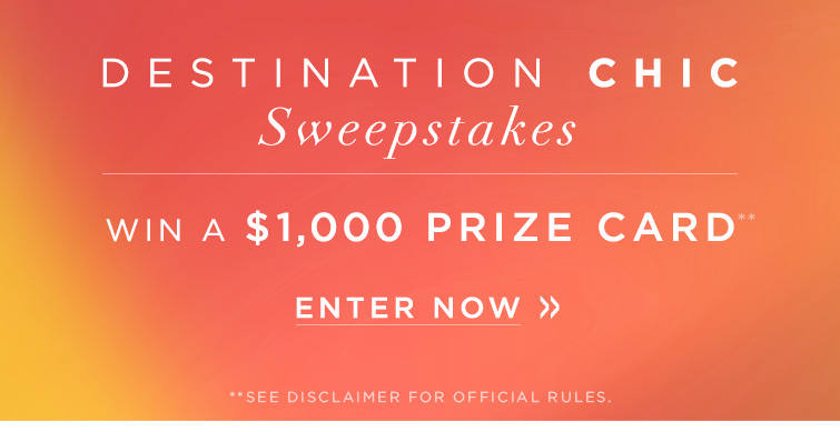 "M Email DestChic Monte 13007 07 - Marciano.com ""Destination Chic"" Sweepstakes"