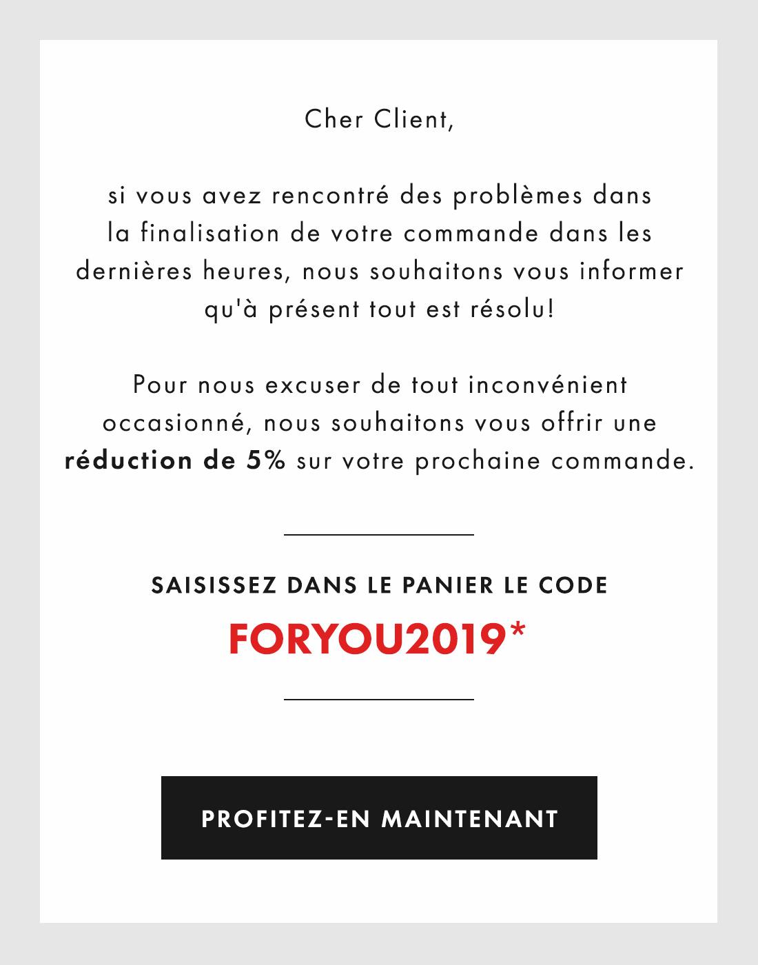 Code promo Guess 5% de réduction Octobre 2019
